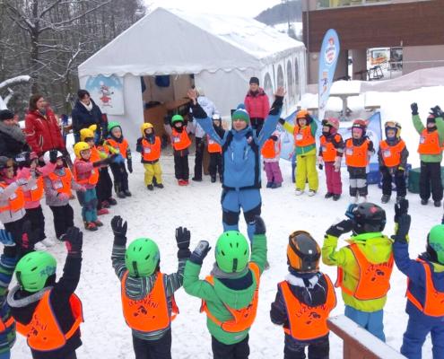 skupinový lyžařský výcvik